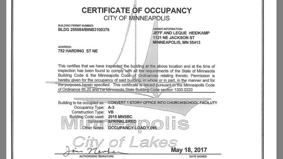 Certificate of Occupancy | Certificate Of