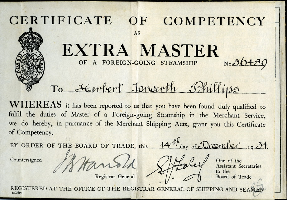 Certificate Of Competency Certificate Of