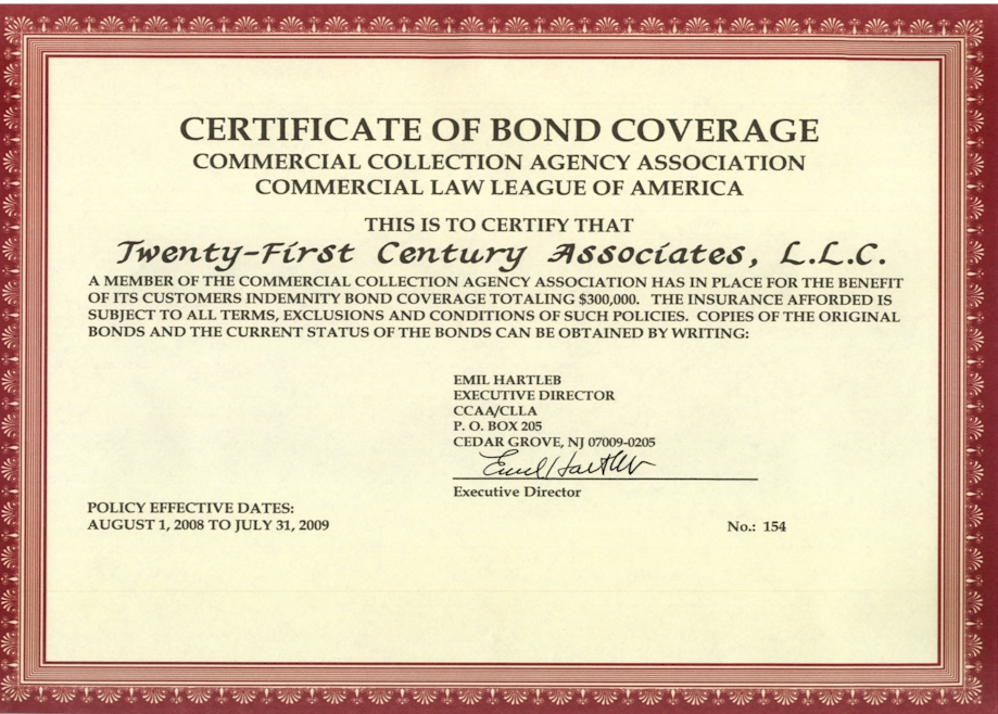 What is Certificate of Coverage