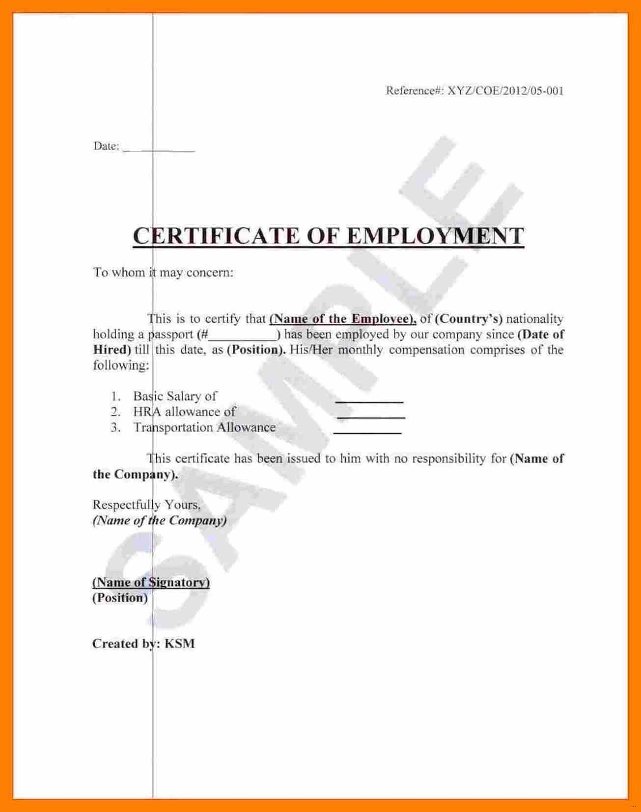 Certificate of employment certificate of what is certificate of employment maxwellsz