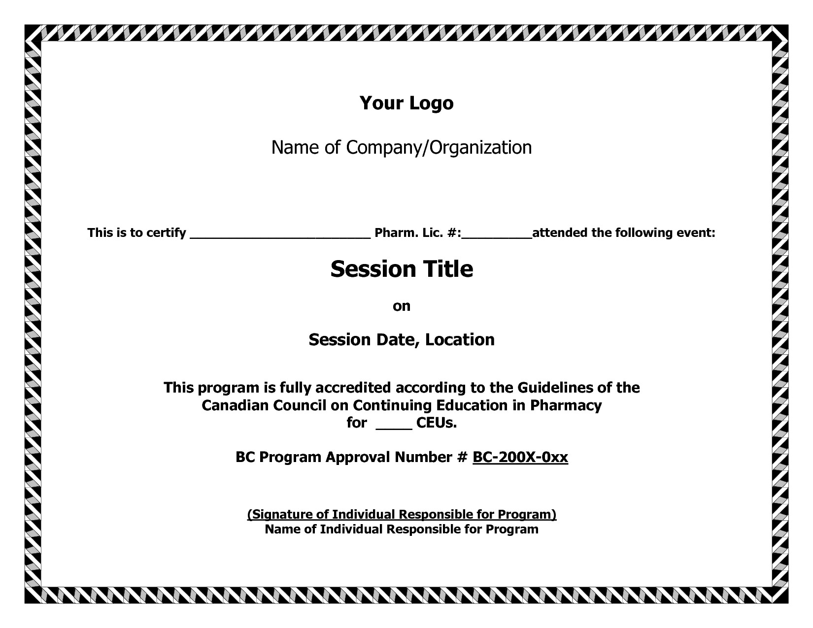 Certificate Of Title Certificate Of