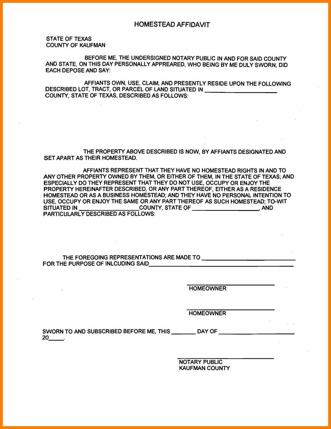 Certificate of Rent