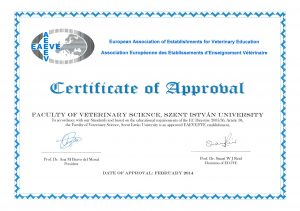 Certificate of Approval for Project