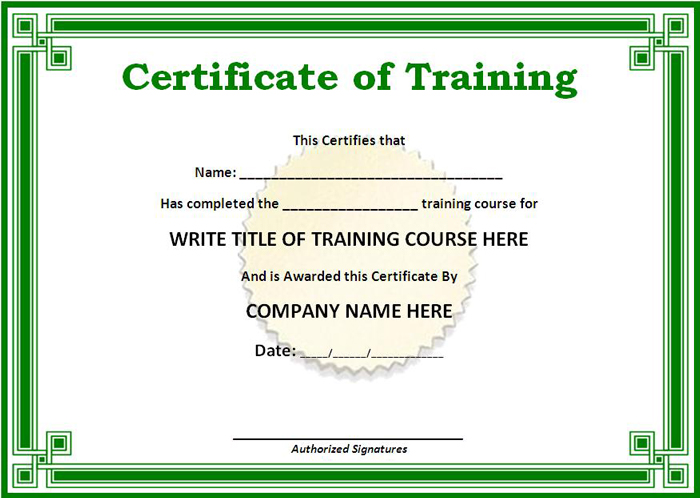 Training-Certificate-Template-Download-Free